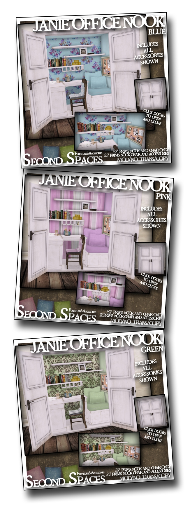 combo janie office nook