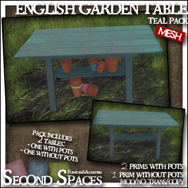 english garden_teal table pack_promo